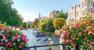 papular city Amsterdam