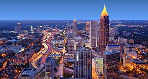 papular city Atlanta