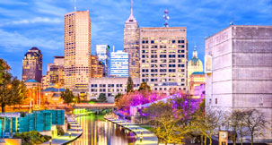 papular city Indianapolis