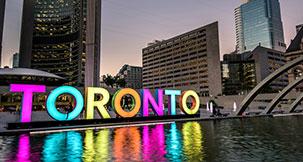 papular city Toronto