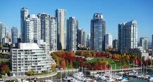 papular city Vancouver